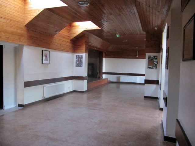 Interior of Village Hall